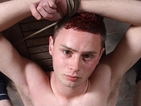 Aiden Jason, Aston Bradley gay bdsm video from Boy Napped
