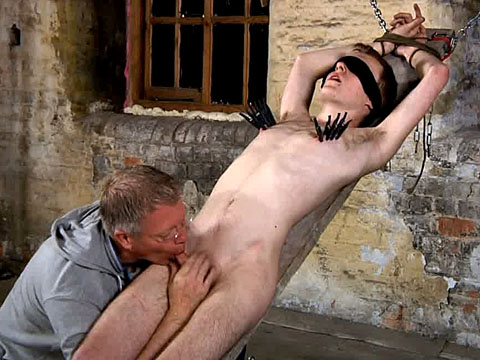 Sebastian Kain gay bdsm video from Boy Napped